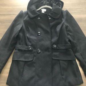 Jackets & Blazers - Celebrity Pink pea coat.